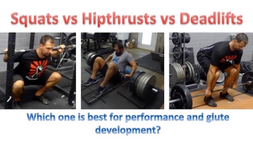 Squat vs. Hip Thrust vs. Deadlift Study Predictions