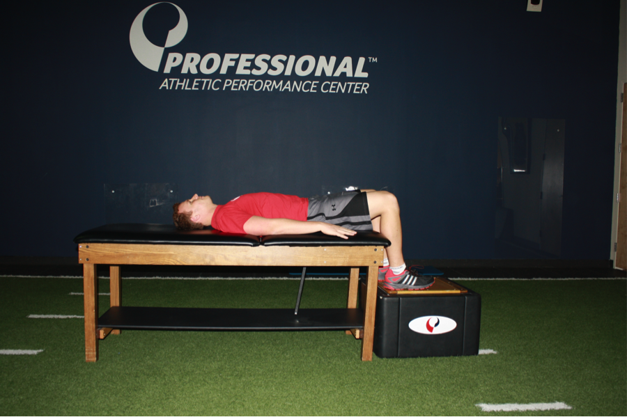 Figure 1. The Starting Gluteal Test Position