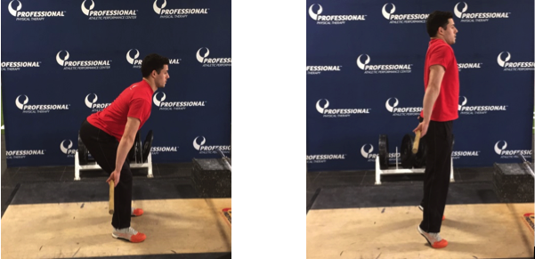 Figure 1 The Starting Position  Figure 2 The Exercise Execution
