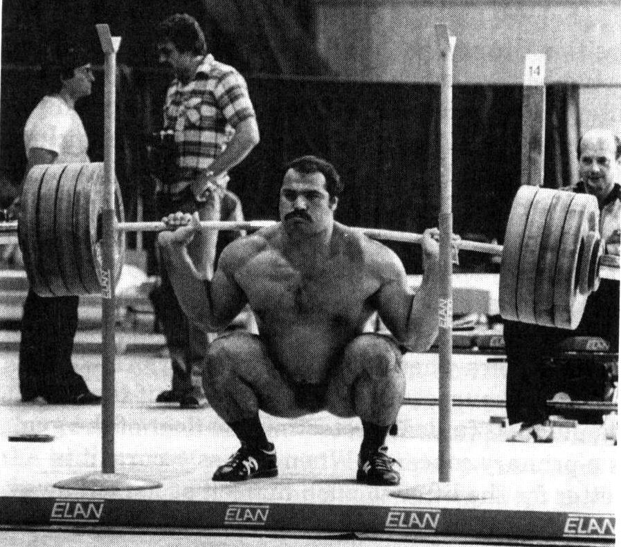 Anatoly Pisarenko Back Squat