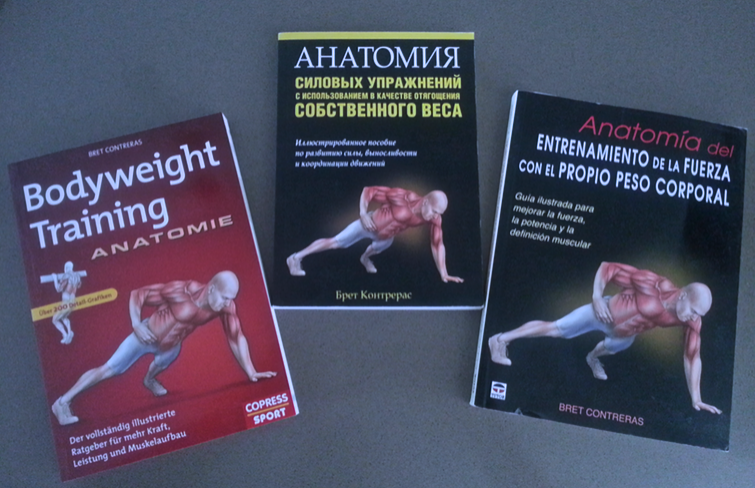 Bodyweight Strength Training Anatomy Now In 4 Languages With More