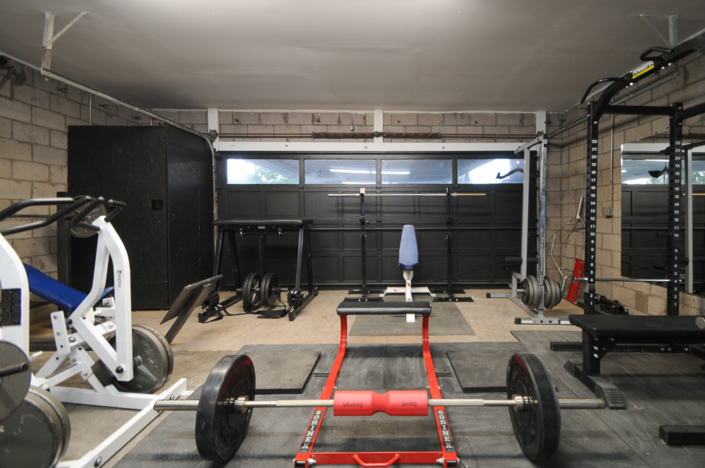 New improved garage gym bret contreras