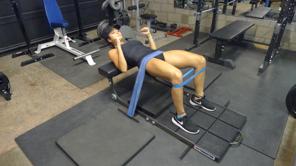 Double band hip thrust