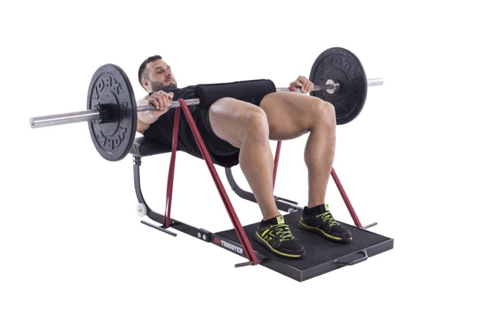 Hip Thruster barbell band