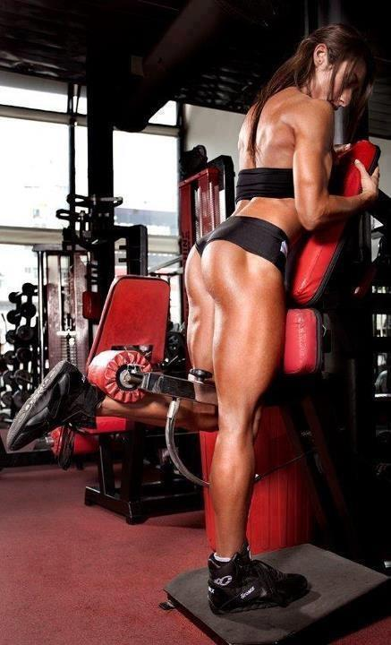 Glute moment arm