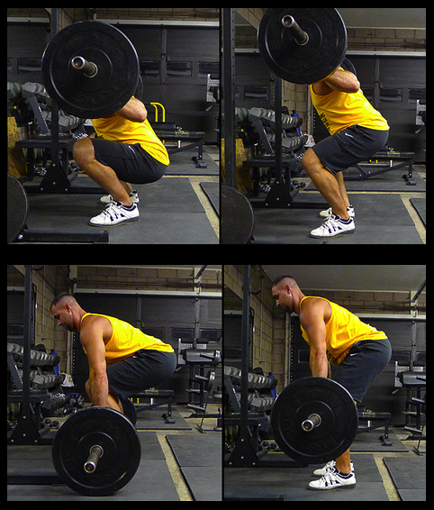 Good squat and deadlift form