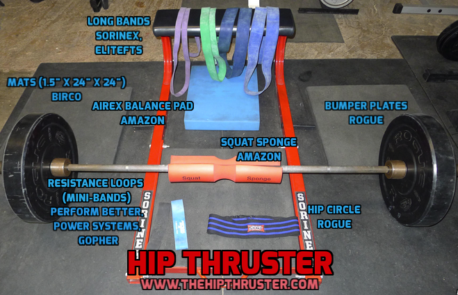 Hip Thruster Station