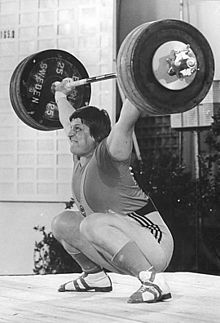 Are you gonna tell Leonid Taranenko he had weak glutes?