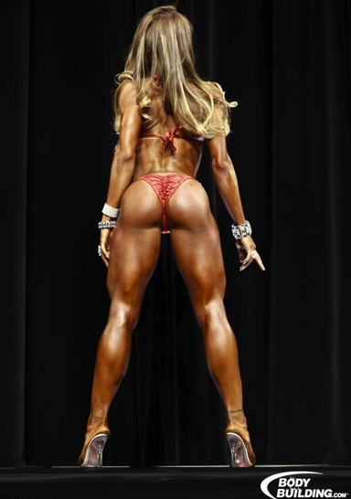 High Frequency Glute Training Does Nathalia's Glutes Good