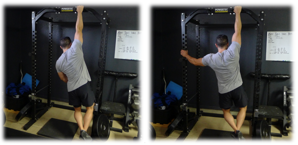 One Arm Static Hang