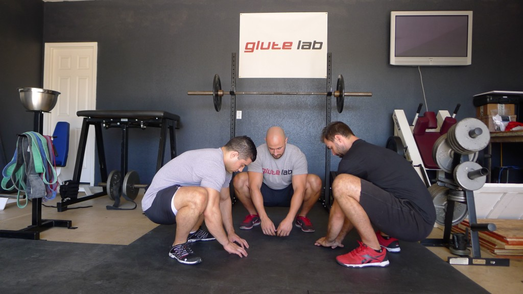 glute activation warm up bret
