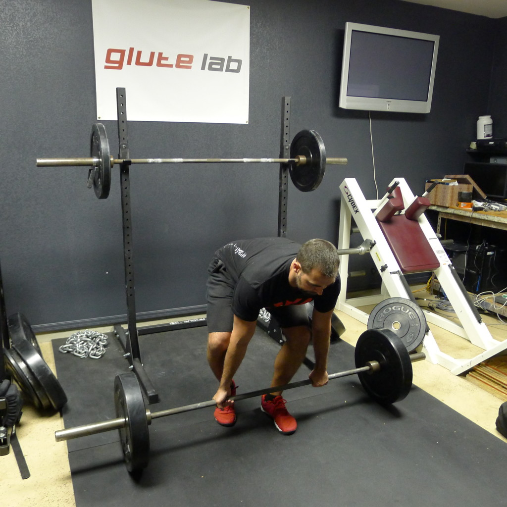 B Stance Deadlift
