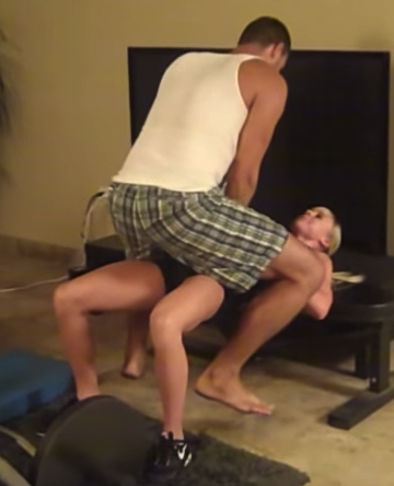Partner hip thrust