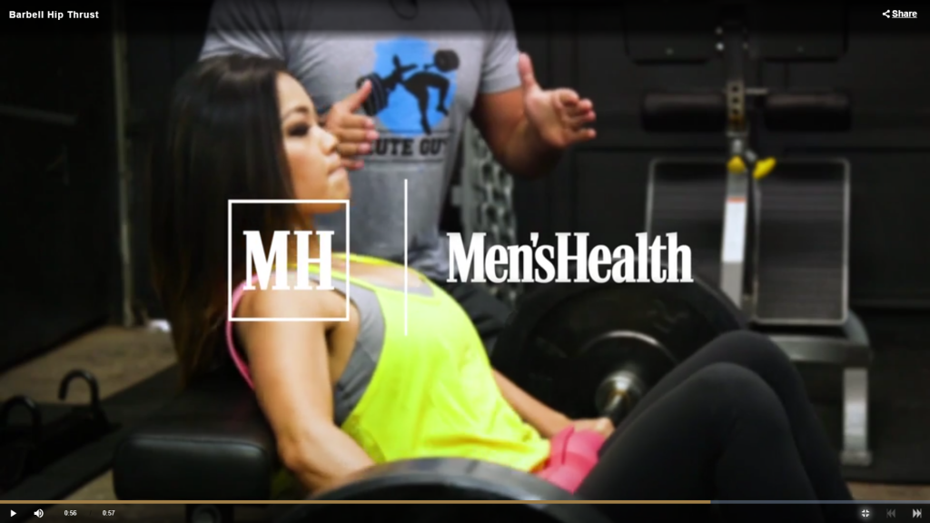 The Perfect Barbell Hip Thrust