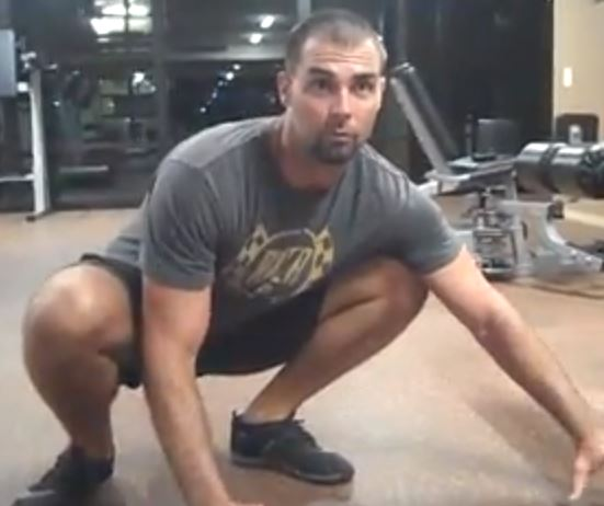 "Stretch Ankle Dorsiflexion in a ""Squat-Specific"" Manner"