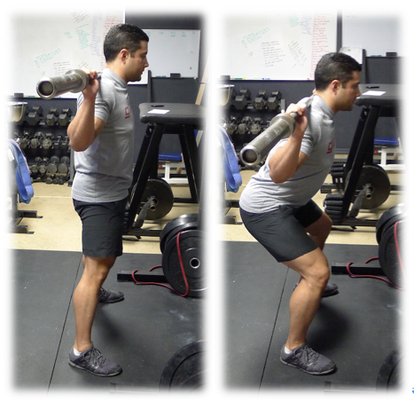 Top Mid Squat