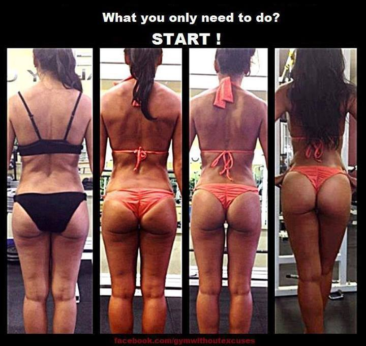 Incredible transformation! Don't know who she is or who trained her, but this just shows you the power of glute training!