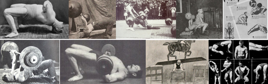 examples of strongman bridging exercises
