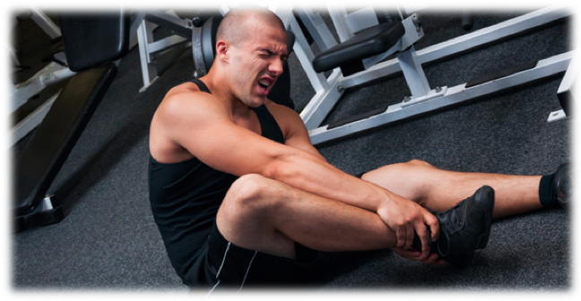 exercise ankle injury