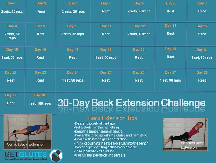 get glutes back ext challenge