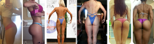 Hip thrusts allowed these ladies to achieve their glute transformation goals
