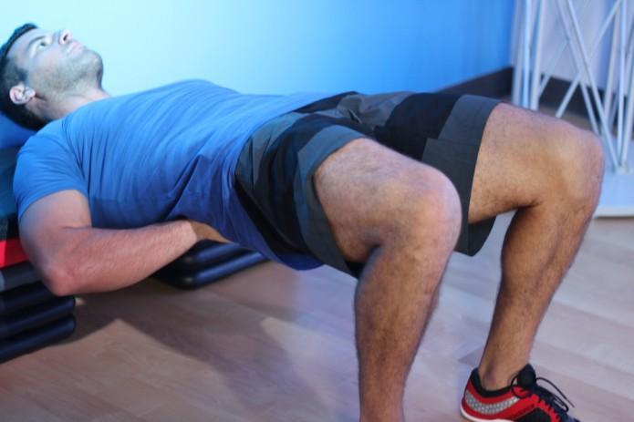 BJ Gaddour demonstrating full hip extension