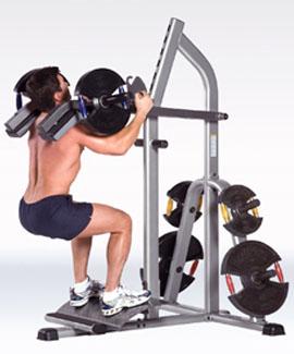 lever squat