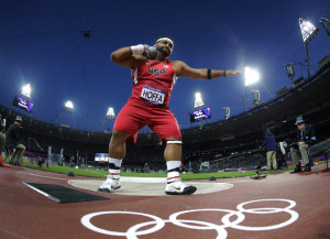 olympic shot put