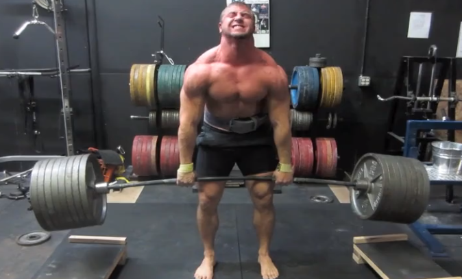 "Pete Rubish doesn't ""just squat"""
