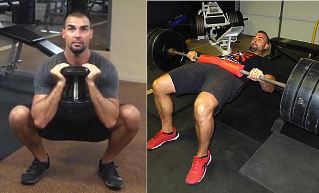 squats versus hip thrusts