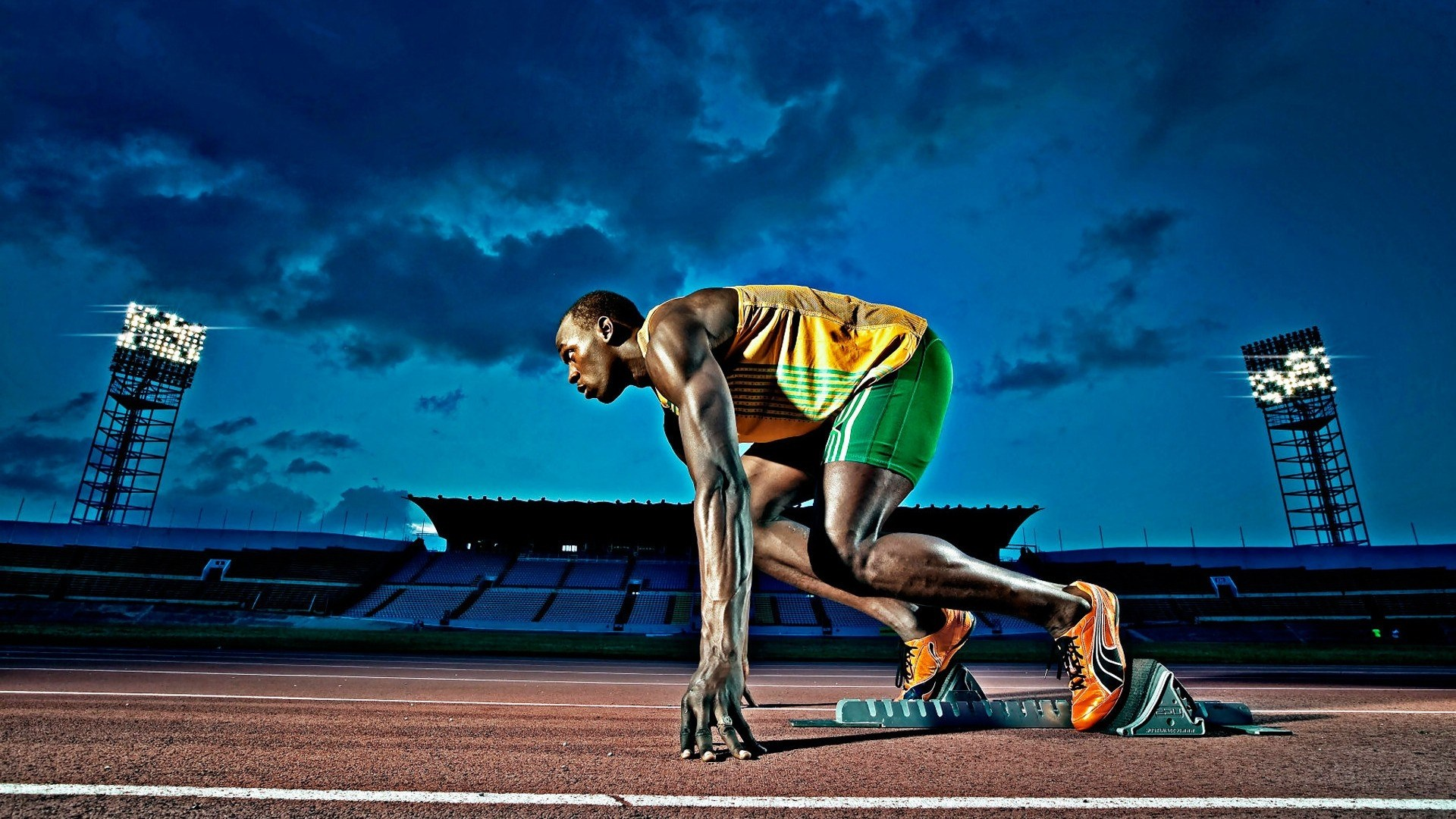 Are usain bolt s sprinting mechanics in need of an overhaul bret