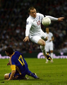 Britain England Ukraine World Cup Soccer